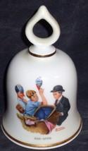 Baby-Sitter, Norman Rockwell - September 1979 Danbury Mint  Bell COA - $26.72