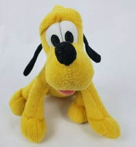 "Disney Pluto 8"" Plush Dog Mickey Mouse & Friends Stuffed Animal Just Play  - $14.50"