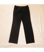 NWT Camille La Vie Size 8 Black Polyester Dress Pants 30 x 33 Actual NEW - $13.33