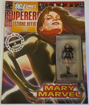 DC Super Hero Eaglemoss Shazam Mary Marvel Lead Figurine with Magazine - $15.00