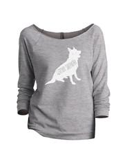 Thread Tank German Shepherd Dog Silhouette Women's Slouchy 3/4 Sleeves R... - $24.99+
