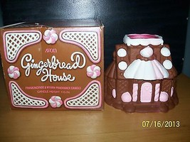 AVON GINGERBREAD HOUSE CANDLE Scented IN ORIGINAL BOX - $9.89