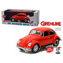 1967 Volkswagen Beetle Gremlins Movie (1984) with Gizmo Figure 1/18 Diec... - $54.35