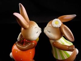 Vintage kissing bunny goebel - new mom gift - mothers day gift - german figurine image 3
