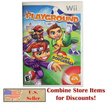 PlayGround (Nintendo Wii, 2007) 4 Player Complete with Manual Very Good CIB - $9.49
