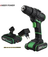 ANEERPOWER® 25V Plus Electric Impact Drill Hand Drill Battery Cordless H... - $121.50+