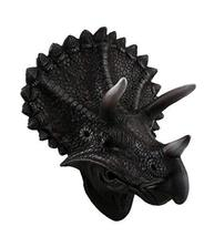 Zeckos Triceratops Trophy Wall Mounted Dinosaur Head Sculpture - £47.35 GBP