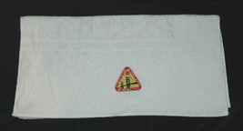 Star Trek The Next Generation StarFleet Academy Logo White Bath Towel 20... - $27.08