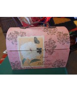 """Carry On"" Storage Cosmetics Jewelry Box..Leather Strap....COUNT YOUR B... - $12.46"