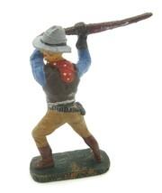 "Vintage Elastolin Germany Cowboy ""Swing"" Figure Toy (D4) - $39.60"
