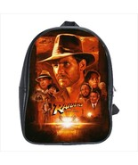 School bag 3 sizes bookbag raiders of the lost ark indiana jones indy - $39.00+