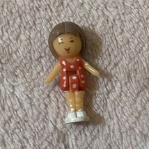 Bluebird Vintage Polly Pocket 1991 Little Lulu In Her Seaside Locket Doll - $14.99