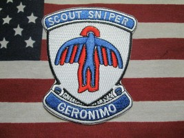 US ARMY 501ST INFANTRY REGIMENT AIRBORNE SCOUT SNIPER POCKET PATCH C/E - $10.00