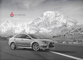 2014 Mitsubishi LANCER brochure catalog GT RALLIART EVOLUTION X 14 GSR MR - $12.00
