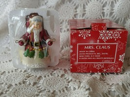 Avon Mrs Clause Christmas Tree Ornament 2002 - $9.69