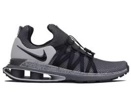 Nike Mens Shox Gravity Trainer Running Shoes Black Grey  AR1999-011 MSRP... - $71.95