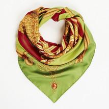 """Hermes Silk """"Brandebourgs"""" Scarf - $285.00"""