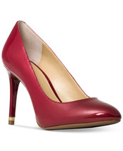 Womens Michael Kors red pumps shoes Heels Size: 8 - $60.78