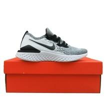 .Nike Epic React Flyknit 2 Running Gym Shoes Womens Size 8 White BQ8927-102 - $113.80