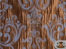 "Taffeta CASTELLA French Blue Chocolate Fabric / 56"" Wide / Sold by the Yard - $11.76"