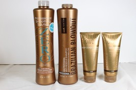 Brazilian Blowout Zero 1005ml, Anti Résidu Shampooing Masque 237ml & Serum - $409.94