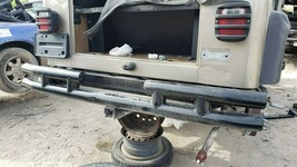 97-06 Chrysler Jeep Wrangler TJ Rear Metal Bumper W/ Tow Hitch SMITTYBILT image 1