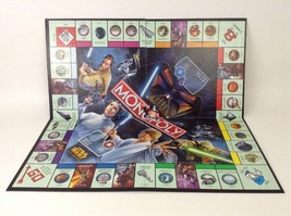 REPLACEMENT Hasbro 2005 Star Wars Monopoly Saga Edition Pieces Game Board - $12.82