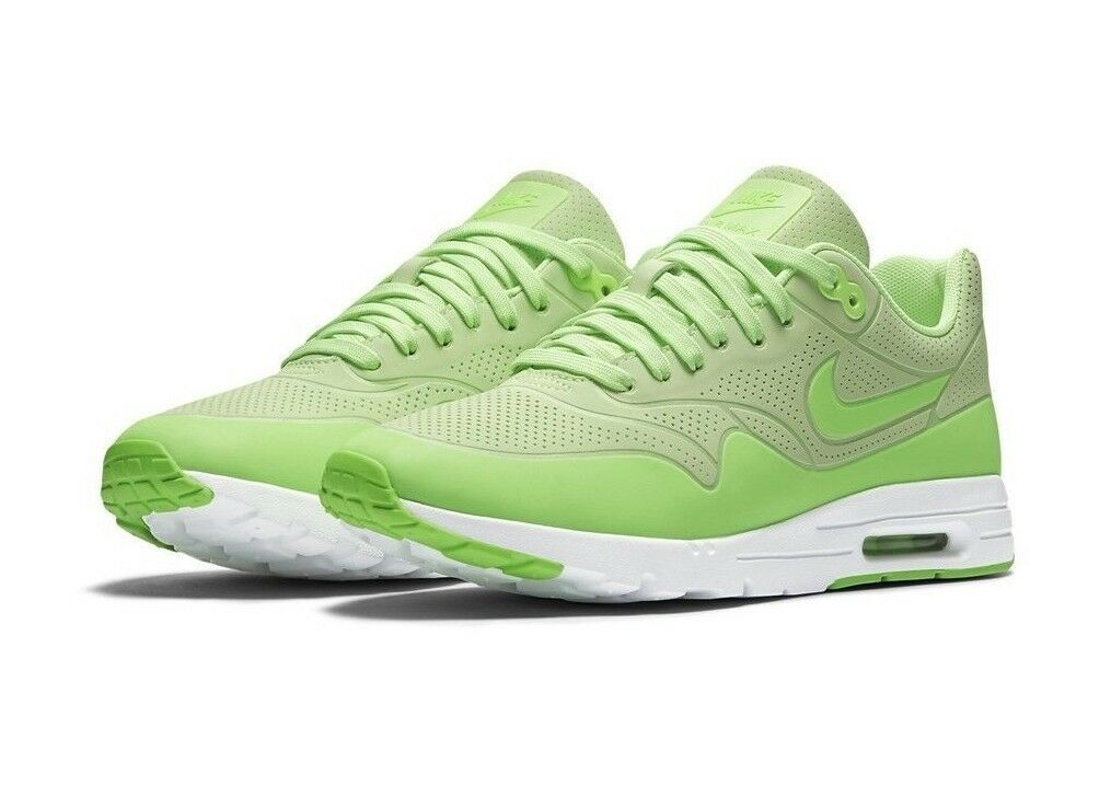 Nike Women's Air Max 1 Ultra Moire Shoes NEW AUTHENTIC Ghost Green 704995-302 image 4