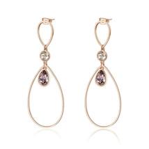 Gorgeous Brosway Destiny Stainless Steel Drop Earring made w/ Swarovski ... - $67.32