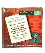 Set of 5 vinyl 78 rpm Original Cast - Brigadoon RCA Victor 45-0028 1947 - £24.47 GBP