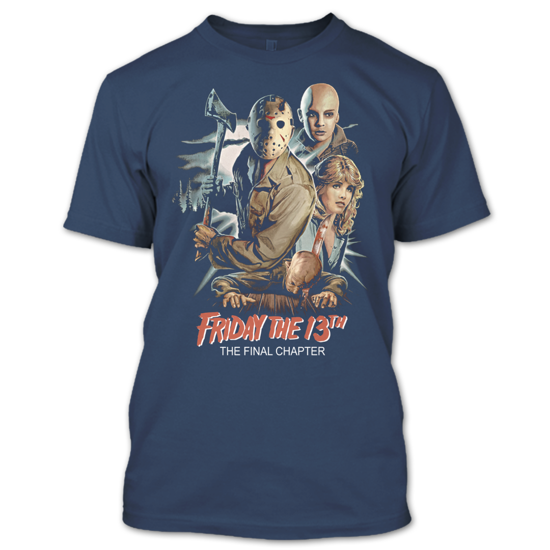 Horror Movie T Shirt, Happy Halloween T Shirt, Friday The 13th T Shirt