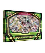 Pokemon TCG Shiny Rayquaza EX Collection Box Sealed 4 Booster Packs & Pr... - $34.99