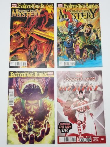Journey Into Mystery 622 & Above 23 Comic Book Lot Marvel Thor Loki Lady Sif