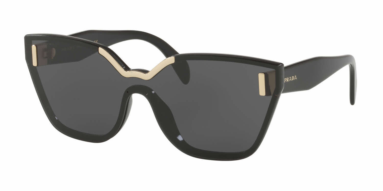 fa6ca6b1b5 Prada sunglasses PR16TS 1AB5S0 Black Gold and 50 similar items. 1