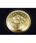 Extremely Rare! Walt Disney Donald Duck Operazione Dollaro 1969 Coin - $48.18