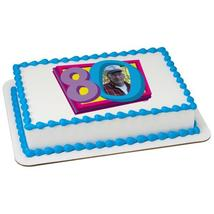 Happy 80th Birthday Edible Cake Topper Frame - $9.99+