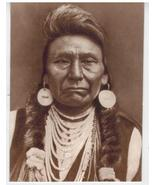 Chief Joseph Perce Vintage 8X10 Sepia Native American Memorabilia Photo - $4.99