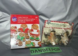 Wilton 2 Packs Cookie Cutter Gingerbread Person Shape Cutout And Recipes - $14.84