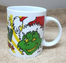 Dr. Seuss How The Grinch Stole Christmas Coffee Mug Cup 3 3/4 In - $29.69