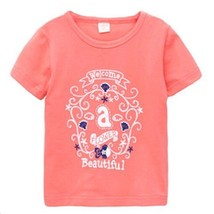 PINK Infant Pure Cotton Tee Baby Toddler T-Shirt 110 CM (4-5Y)