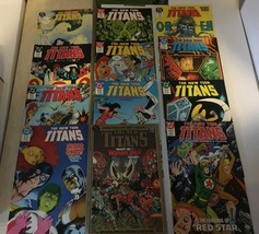 The New Teen Titans 39 - 50 1988 NM Condition DC Comic Book Lot Of 12 - $18.19