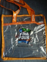 NCAA Minneapolis Final Four 2019 Clear Plastic Coca-Cola Tote Bag - $8.00