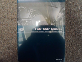 2008 Harley Davidson FXSTSSE2 Models Service Repair Shop Manual Supplement NEW X - $138.55