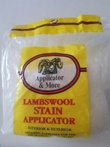 LAMBSWOOL STAIN APPLICATOR INTERIOR EXTERIOR ALL STAINING APPLICATIONS  - $19.79