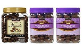 Kirkland Signature Milk Chocolate Roasted Almond and Macadamia Clusters ... - $78.35