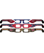 RebelVision Holographic Battle Flag specs - All 3 designs - $7.99