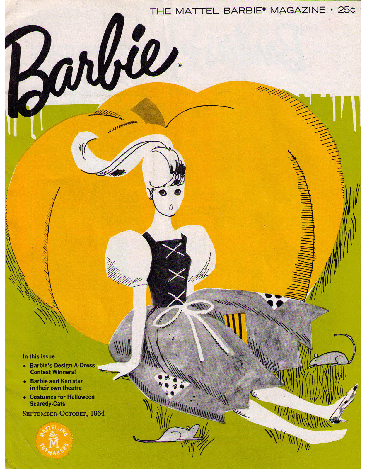 Primary image for BARBIE MAGAZINE - Sept-Oct 1964 issue