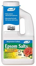 Monterey LG7220 Epsom Salt for Plants Magnesium Sulfate for Gardening, 4 lb