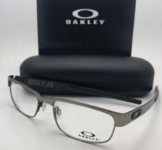 New OAKLEY Eyeglasses METAL PLATE 22-200 53-18 140 Titanium Matte Silver Frames
