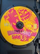 Wario Land: Shake It (Nintendo Wii, 2008) No Case or Booklet - $9.89